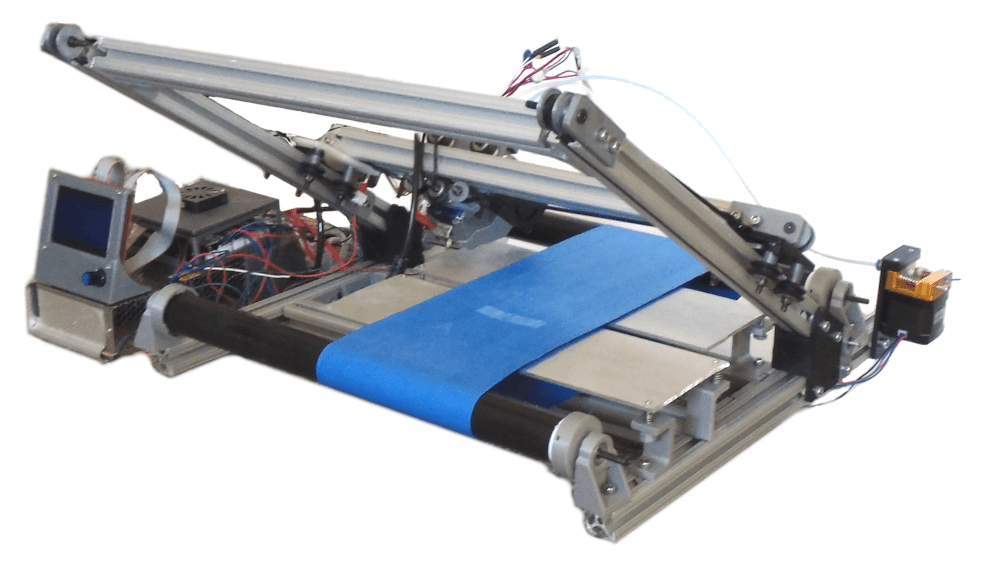3D-принтер с конвейерной лентой