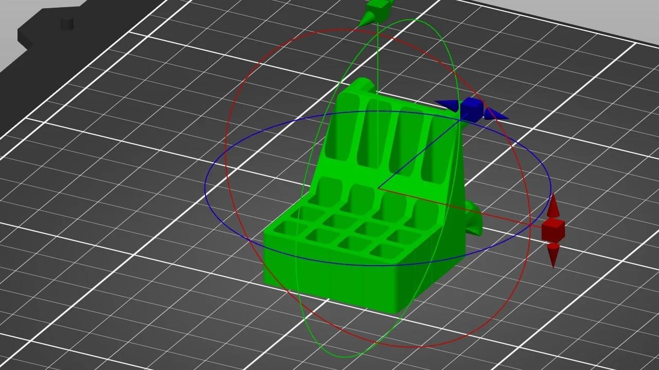 Правильное расположение 3D-модели