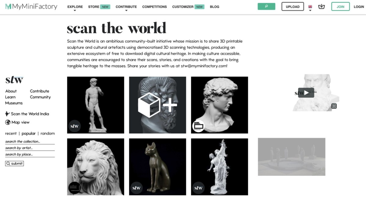 Бесплатные файлы STL, 3D-модели, файлы для 3D-принтера, 3D-модели для 3D-печати: MyMiniFactory