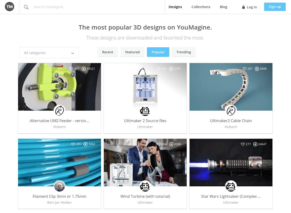 Бесплатные файлы STL, 3D-модели, файлы для 3D-принтера, 3D-модели для 3D-печати: YouMagine