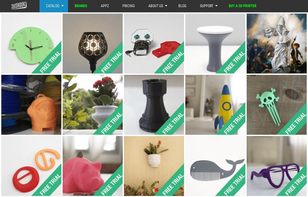Бесплатные файлы STL, 3D-модели, файлы для 3D-принтера, 3D-модели для 3D-печати: 3DShook