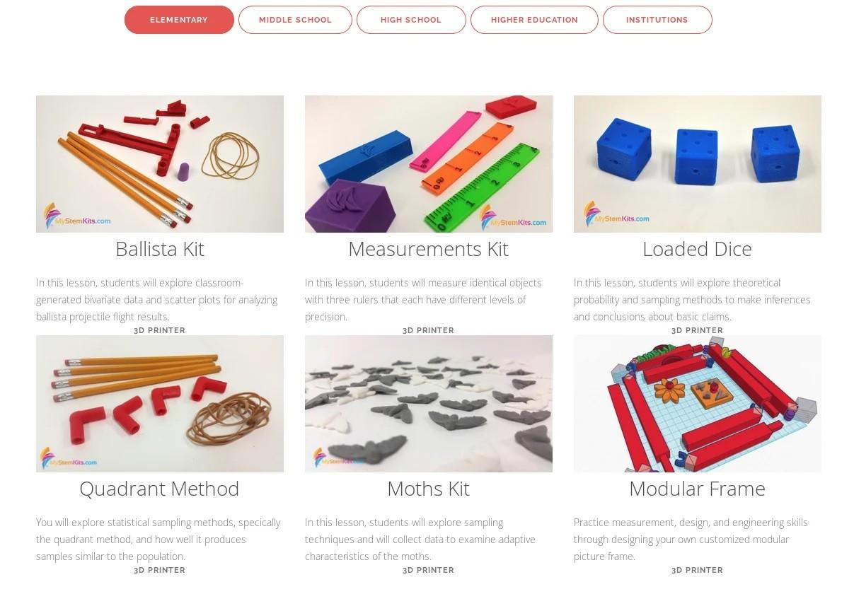 Бесплатные файлы STL, 3D-модели, файлы для 3D-принтера, 3D-модели для 3D-печати: Dremel Lesson Plans