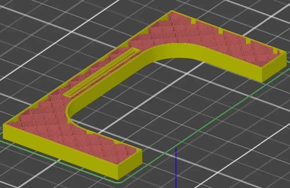Внутреннее усиление 3D-печати