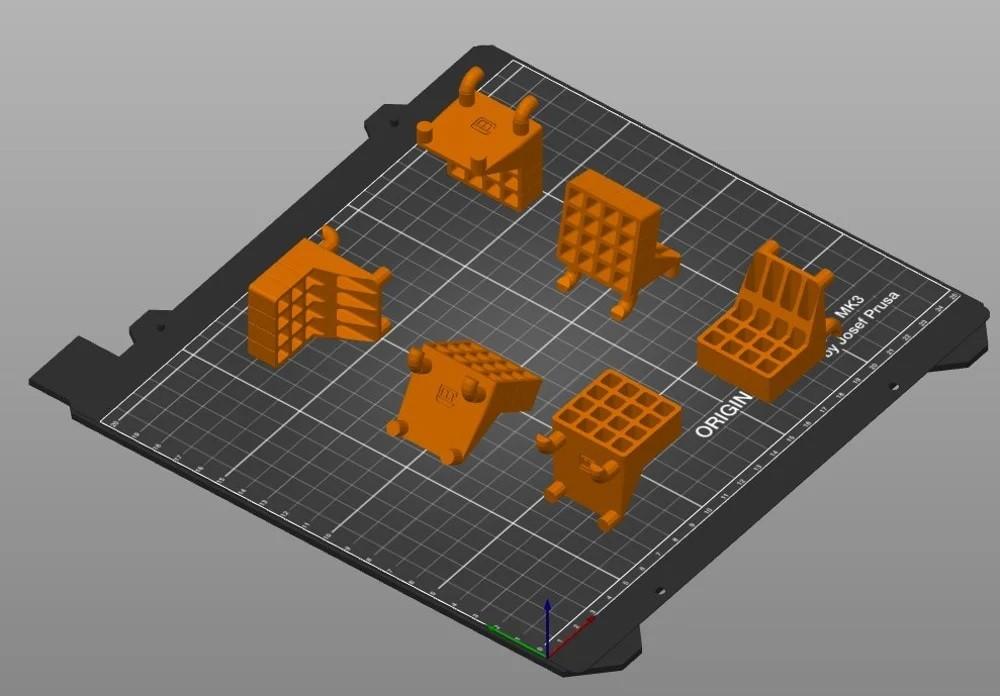 Ориентации моделей на рабочем столе