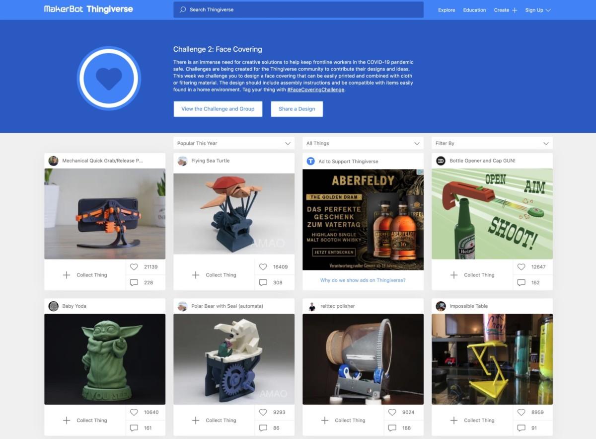 Бесплатные файлы STL, 3D-модели, файлы для 3D-принтера, 3D-модели для 3D-печати: Thingiverse